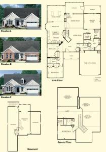 lakemont-II  Colonial Heritage Floorplans Williamsburg Va Real Estate