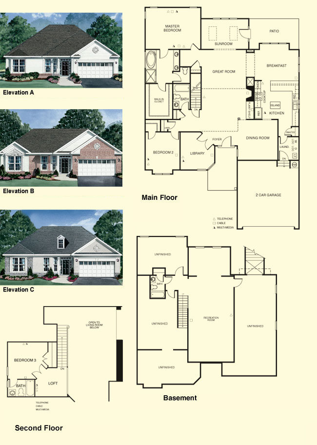 Williamsburg Colonial Floor Plans Colonial Home Plans
