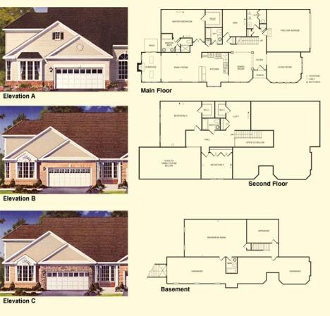 turnberry II  Colonial Heritage Floorplans Williamsburg Va Real Estate