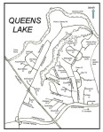 queens lake map