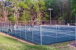 queens  lake tenniscourts