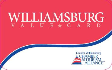 williamsburg va value card