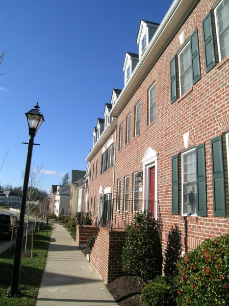 New Town Williamsburg VA Town Homes