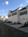 New Town Williamsburg VA Town HomesGarages