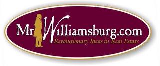 """Mr Williamsburg.com """" Williamsburg VA. Real Estate"""