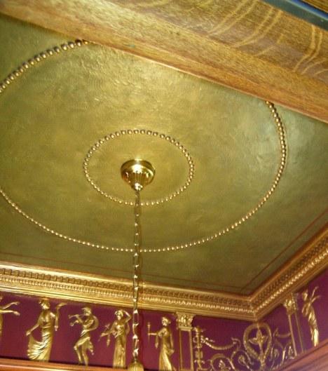 Ceiling Detail in Foyer