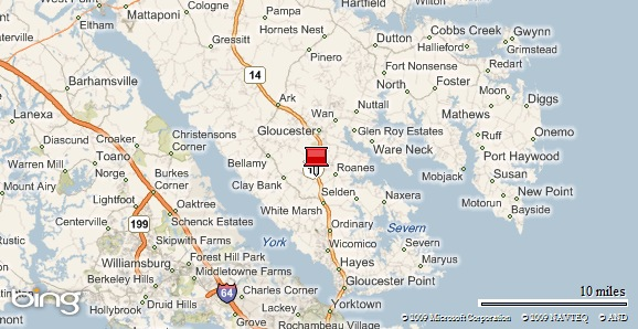 Gloucester Virginia Map.Dunston Hall In Gloucester Va Is Open For Business Mr Williamsburg