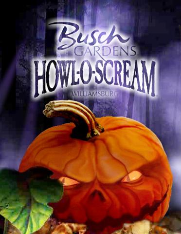 Howl O Scream Busch Gardens Williamsburg Opens This