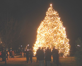 Annual Tree Lighting Ceremony in Colonial Williamsburg ...