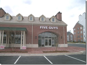 five guys williamsburg