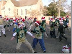 Williamsburg Christmas Parade Hornets