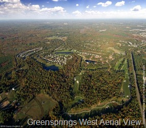 Greensprings West Aerial View