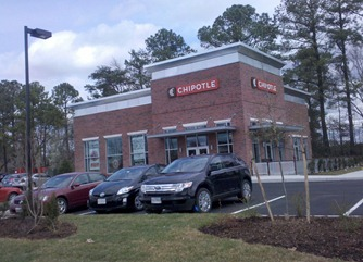 chipotle grill williamsburg va