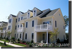 New Town, Williamsburg, VA savannah square