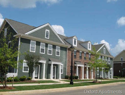 Oxford Apartments New Town