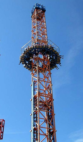 Busch Gardens Williamsburg Tower Coaster