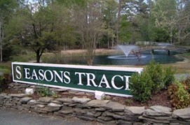 Entrance to seasons trace