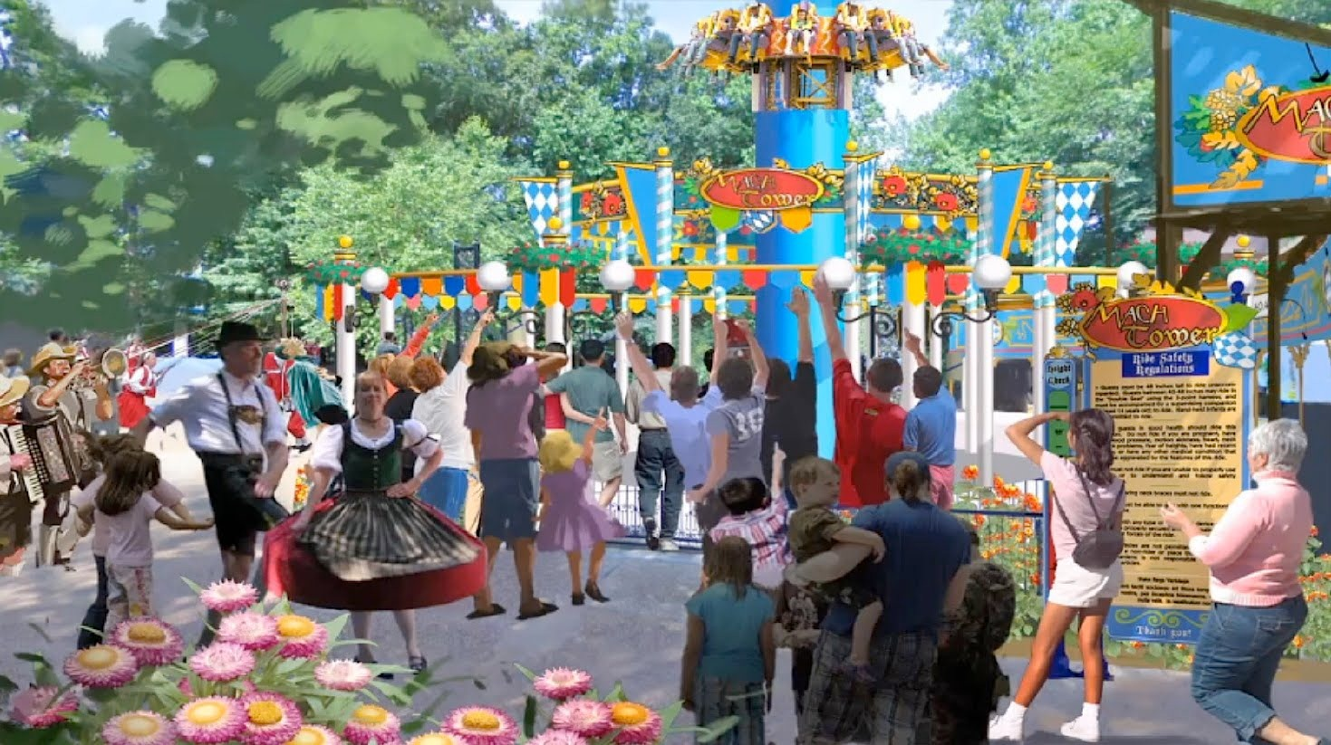 ... For Everyone In The Family, Including New Rides, A Re Envisioned  Village Theme And A Much Requested Expansion To One Of Busch Gardensu0027  Newest Events.