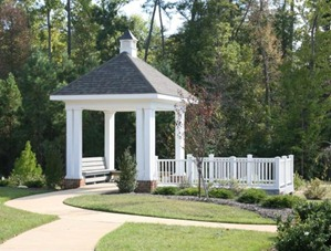 gazebo at the settlement williamsburg va