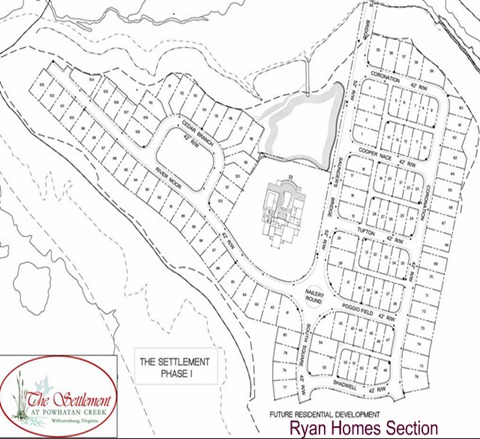The Settlement Siteplan