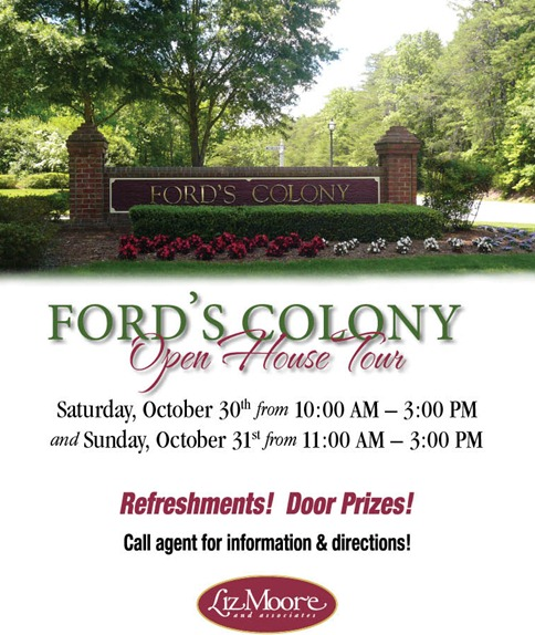 Ford's Colony Open House Tour