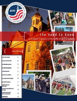 Student guide to Williamsburg VA