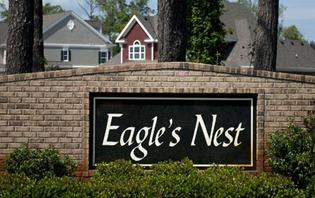 Entrance Eagles NEst