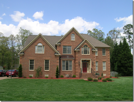 a home in Fieldcrest, Williamsburg vA