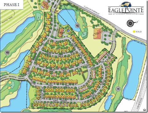 eagle pointe siteplan