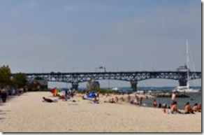 yorktown beach at riverwalk