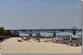 yorktown beach at riverwalk