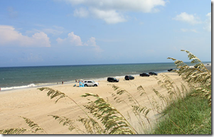 beach at Hatteras
