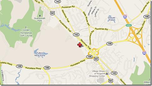 location map doctors hospital of williamsburg