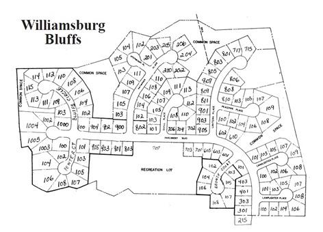 WilliamsburgBluffsMap