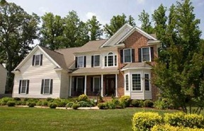 another custom home in Running Man, Yorktown va