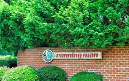 Entrance to Running man
