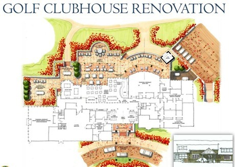 kingsmill golf clubhouse renovation