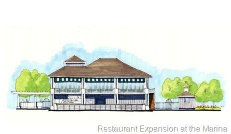 new restaurant at kingsmill marina