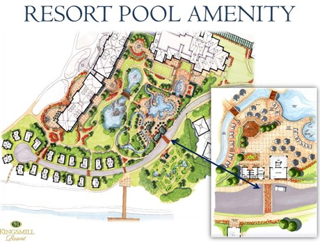 Resort pool renovation plans kingsmill