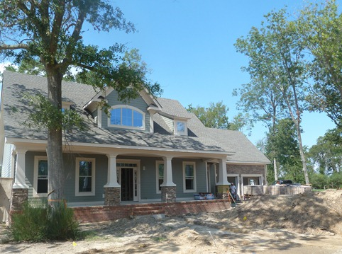 Charlie Anderson of Charlie Anderson General Contractor Building Inc. is building King's Cottage: The WAVY-TV 10 House. The 4,125-square-foot Craftsman home has four bedrooms, with an optional fifth bedroom and 3½ baths.