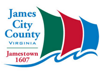 James City County has officially launched a new logo and updated look that will be used as the one common image for all County departments and serve as the visible symbol for the County's vision and values, philosophy and work culture. The logo was created and designed at no expense by County staff.