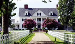 luxurious Inn at Warner Hall, a wonderfully restored mansion and one of the most elegant and historic country inns on the East Coast.