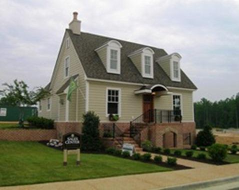 maidstone , new kent village model home