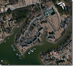 dockside condos aerial view