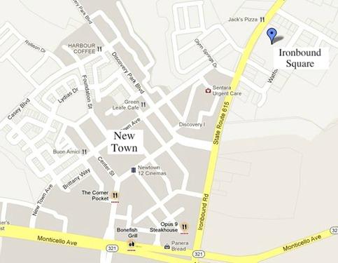 ironbound square -james city county va