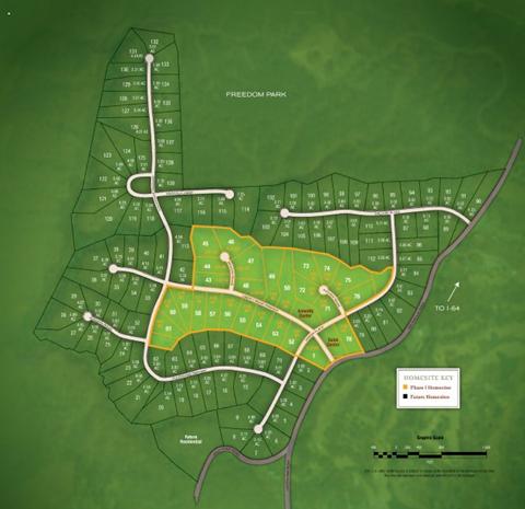 liberty ridge site plan