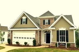 Ryan homes Castleton at The Settlement