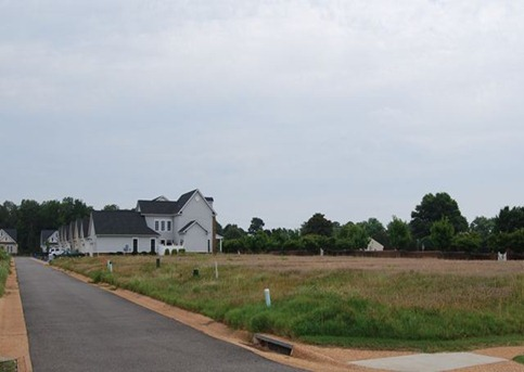 unfinished lots at river club