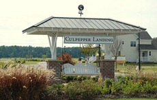 Entrance to Culpepper landing