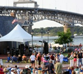 York County is excited to offer the 2012 Shagging on the Riverwalk Beach Music Concert Series, to be held this summer at Riverwalk Landing in Historic Yorktown. Entertainment will take place on the performance stage at Riverwalk Landing, overlooking the York River. This seven-week concert series will feature some of the area's top acts playing beach favorites, oldies, Motown and more.